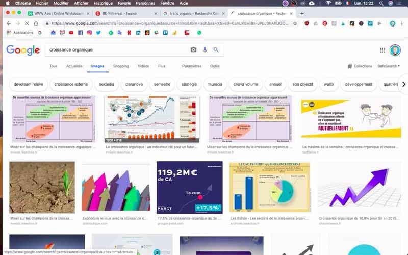 Google Croissance Organique