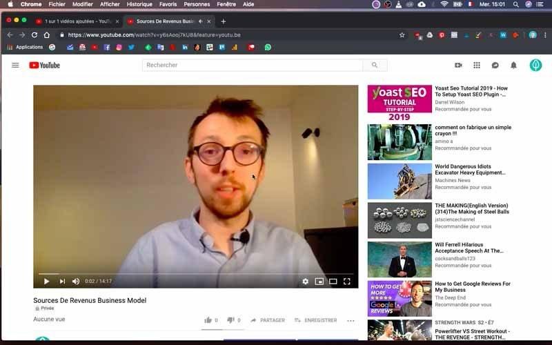 Verifier votre video