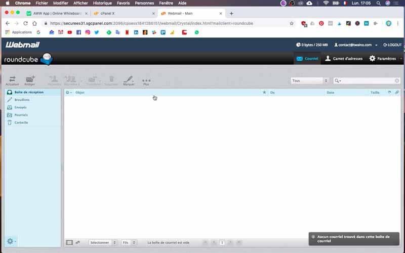 Webmail Roundcube