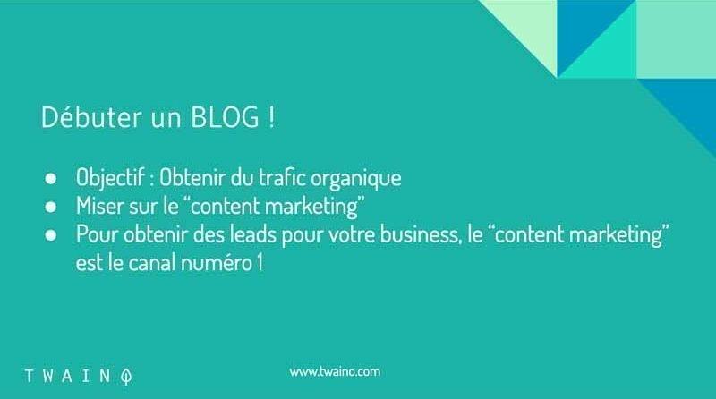 Debuter un blog
