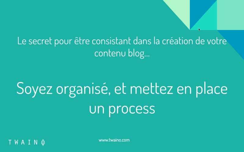Organisation et process