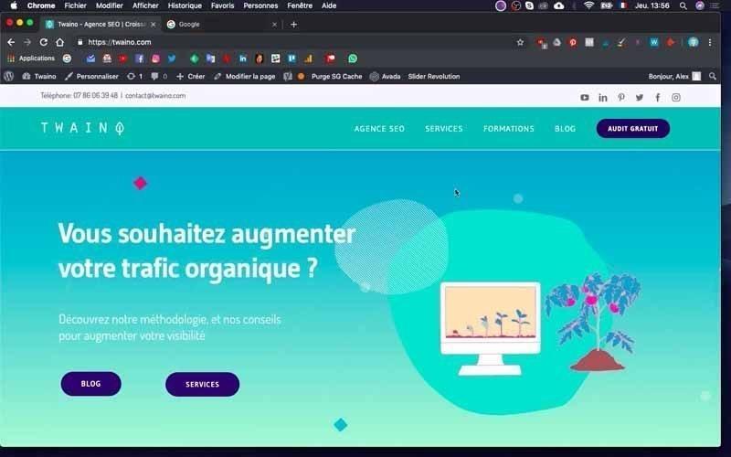 1 Site Twaino Agence