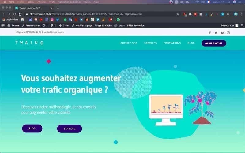 Site Web Twaino Agence SEO
