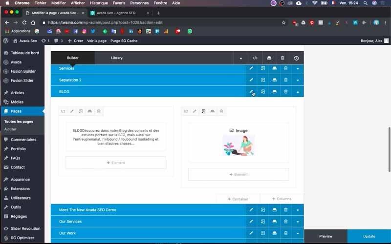 116 Editer fusion builder blog