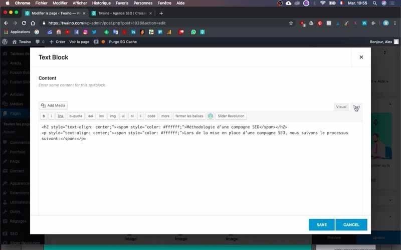 52 Verifier le code en blanc