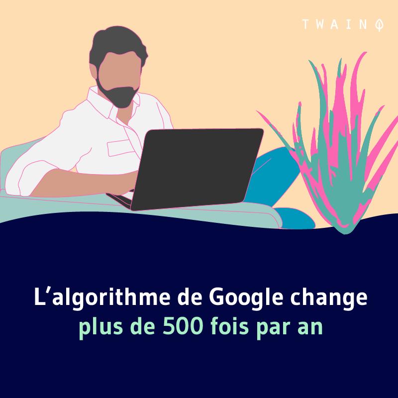 Laglorithme de google change jusqua 500 fois par an 2