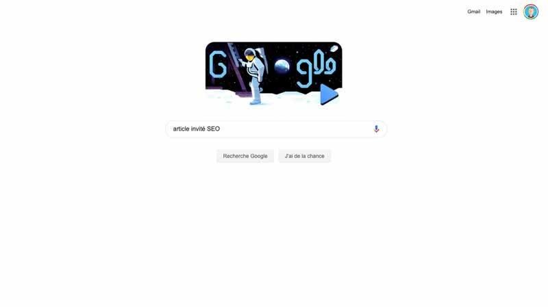 2 Taper Article invite dans google