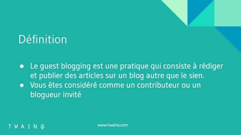 Definition dun article invite