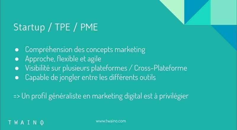 Startup PME TPE