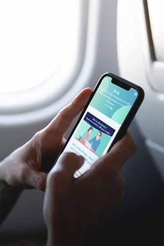 Twaino Blog lecture dans avion