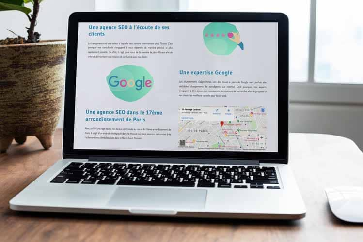 Une expertise Google dans le 17eme arrondissement de Paris