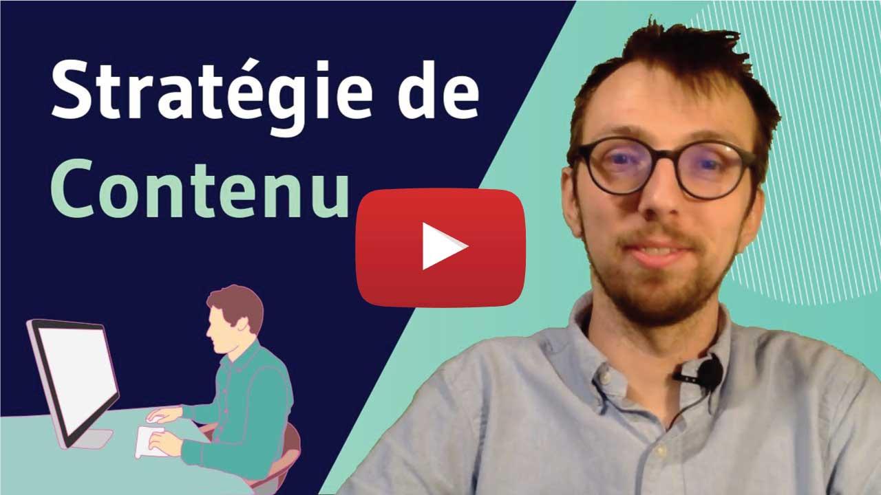 Vidéo stratégie de contenu