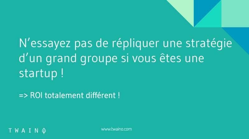 Strategie grand groupe