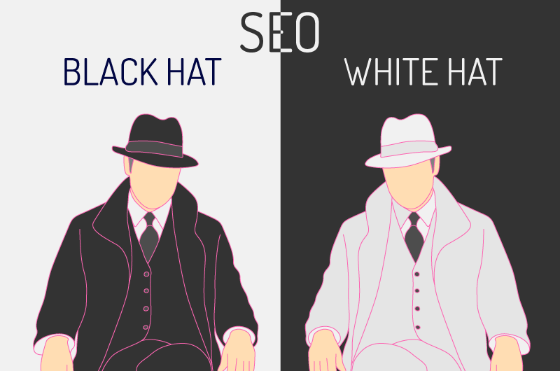 SEO Black Hat White Hat