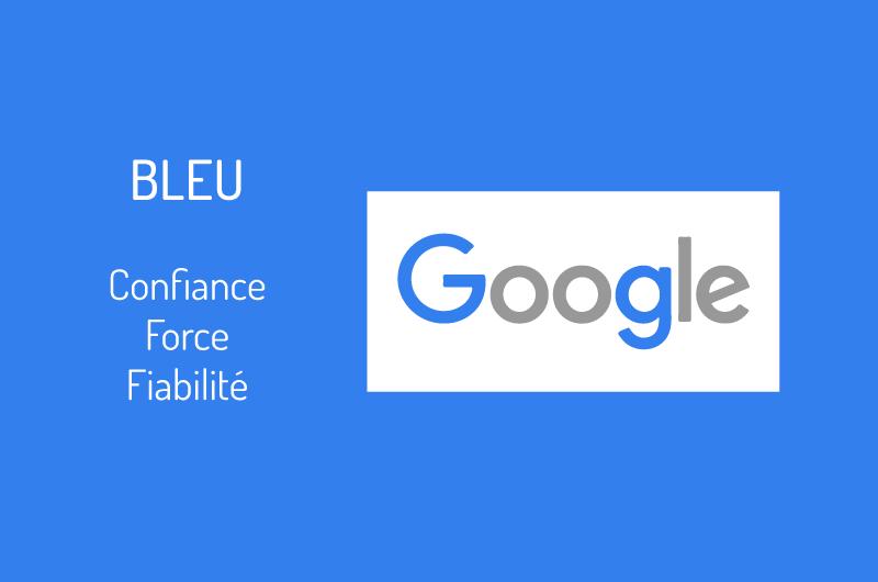 Logo Google couleur bleu