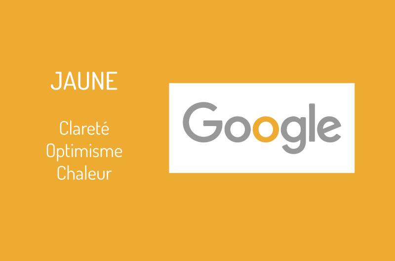 Logo Google couleur jaune