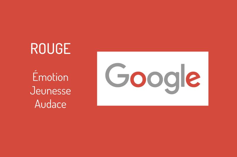 Logo Google couleur rouge