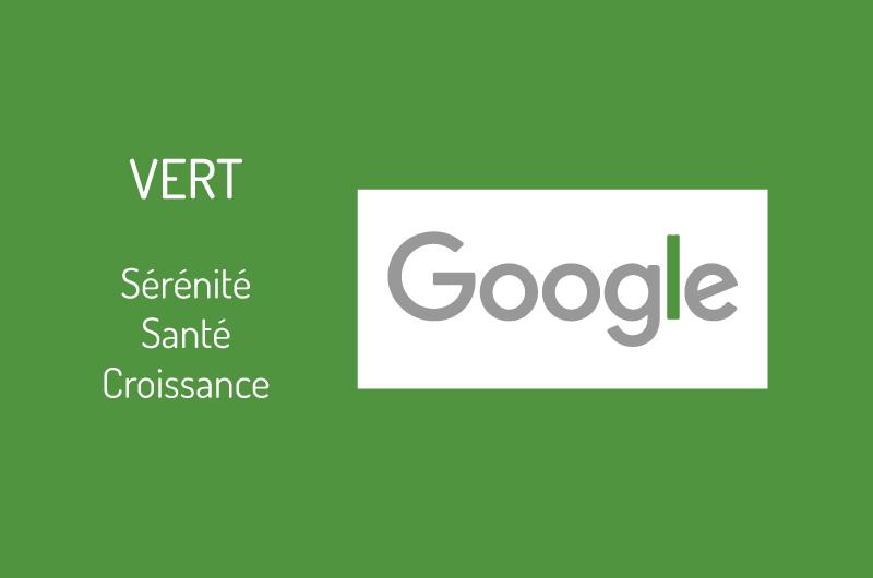 Logo Google couleur vert