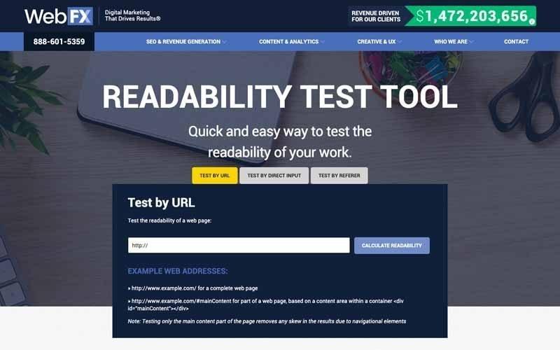 Readability etst tool