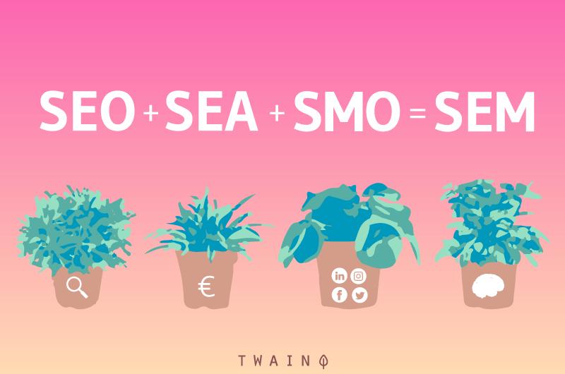 SEO SEA SMO SEM