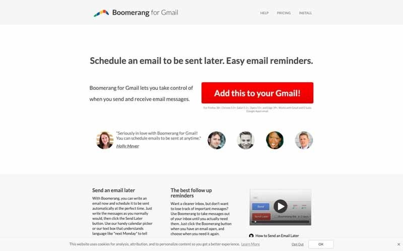 Boomerang for Gmail