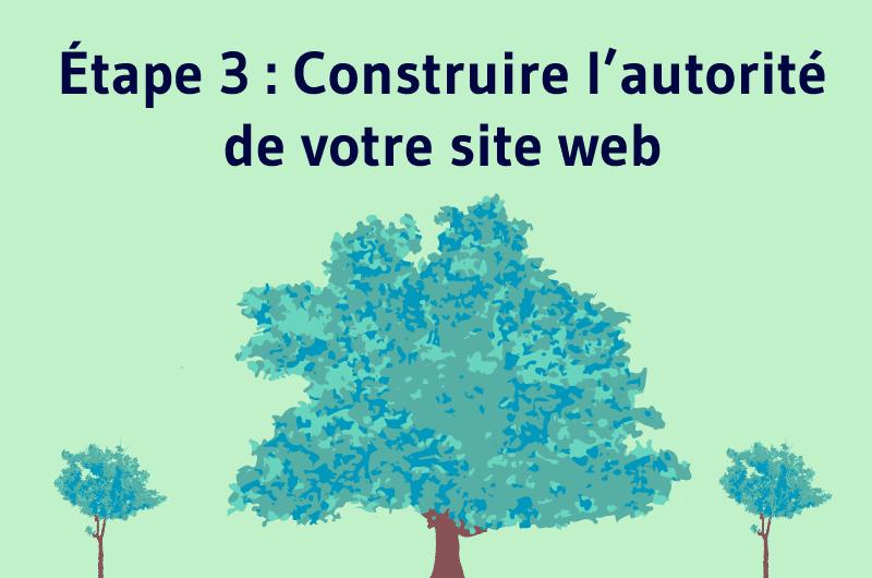 Étape 3 : Construire l'autorité de votre site web
