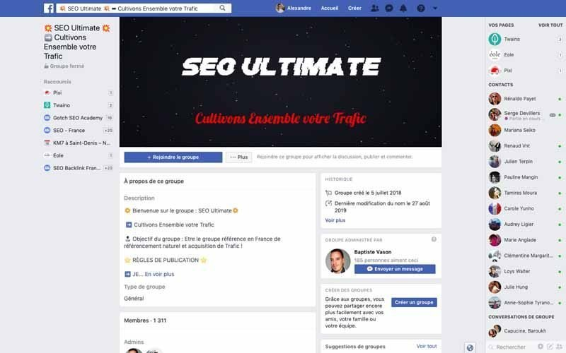 Page Facebook SEO Ultimate