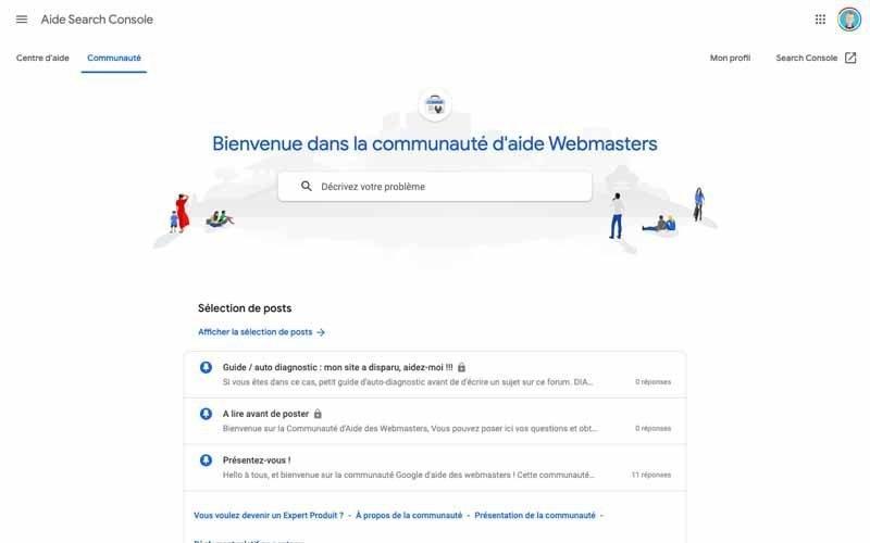 Forum Google webmaster