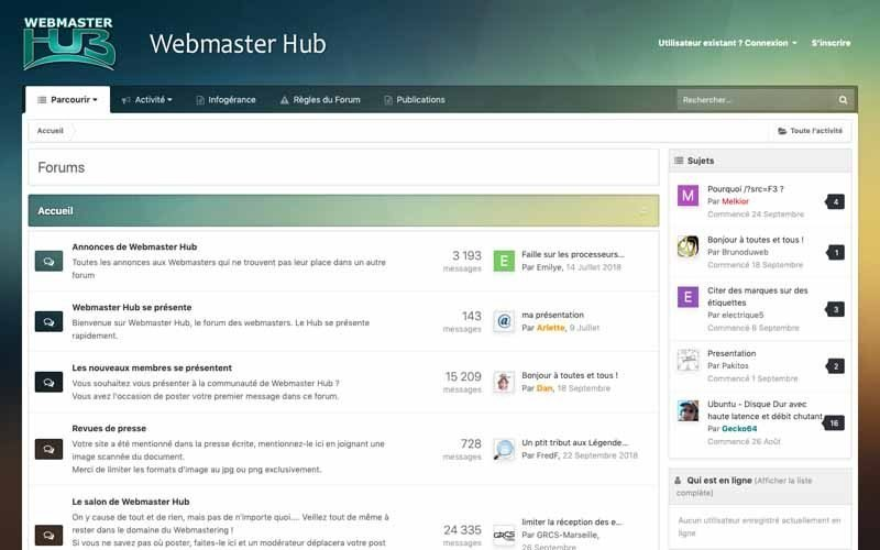 Forum Webmaster Hub