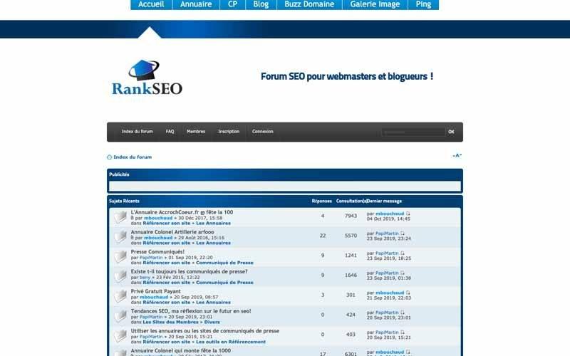 Forum Rank SEO