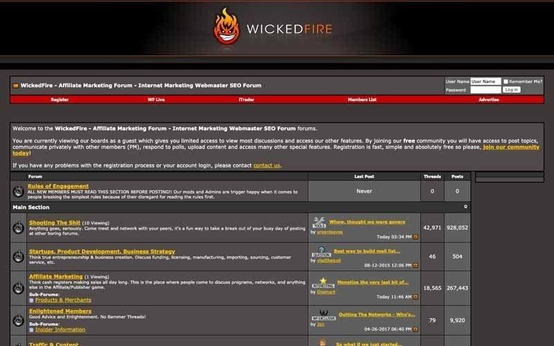 Forum Wicked Fire