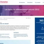 CCI Formation les bases du referencement naturel