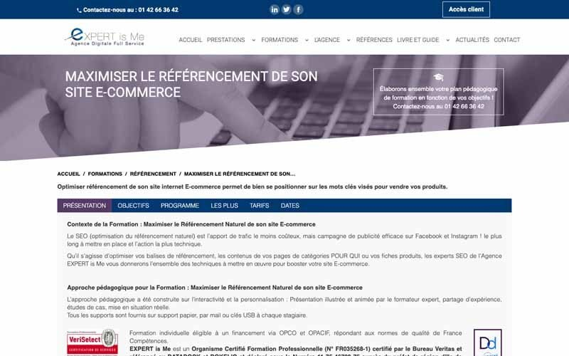 Expert is me referncement ecommerce
