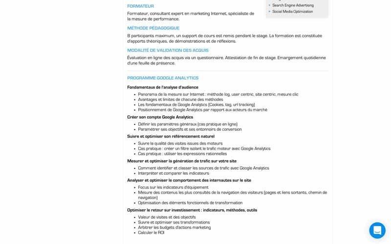 Ziggourat Programme formation GA