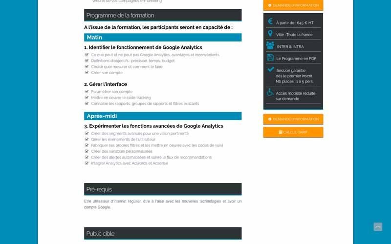 Data Programme formation GA