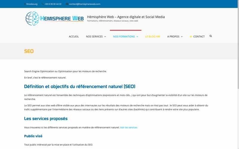 Hemisphere Web SEO