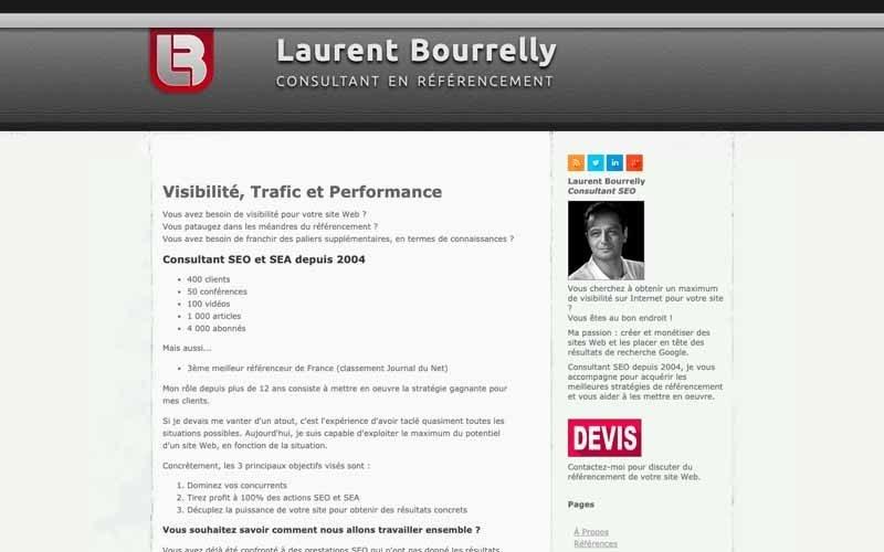 Blog Laurent Bourrelly