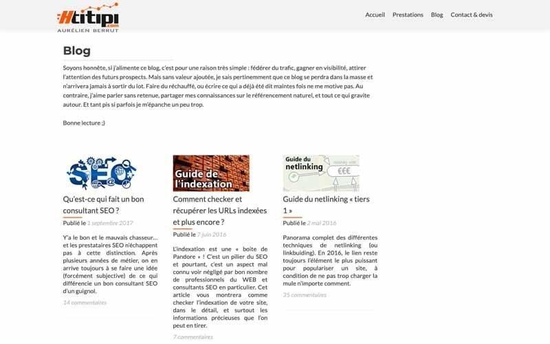 Blog Htitipi