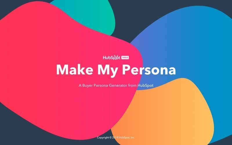 Make my persona hubspot