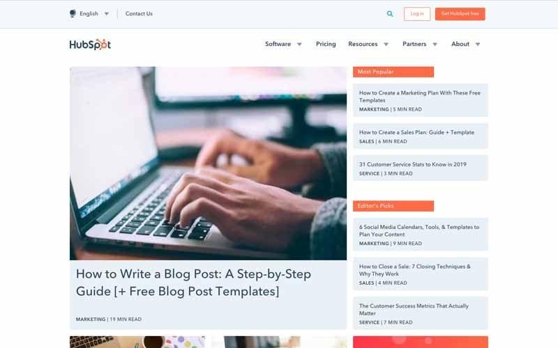 Blog Hubspot