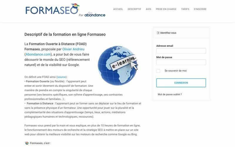 Formation FormaSEO