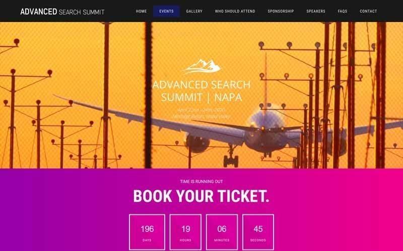 Evenement Advanced Search Summit