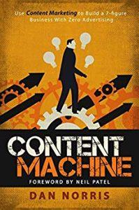 Livre Content machine