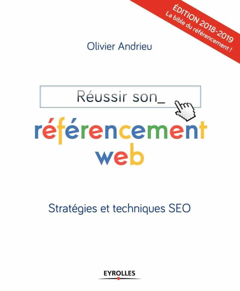 Livre Reussir son referencement web