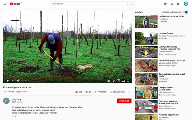 Regarder les videos pour voir ce qui fonctionne