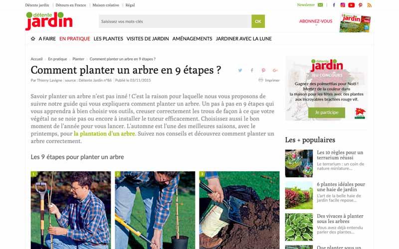 Résutat Google pour comment planter un arbre