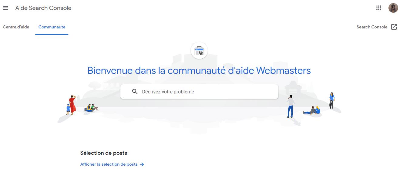 Forum webmaster de Google