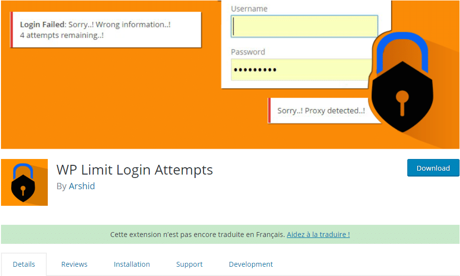 WP Limit Login Attempts