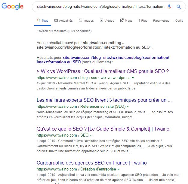 Faire une recherche pointue avec syntaxe google