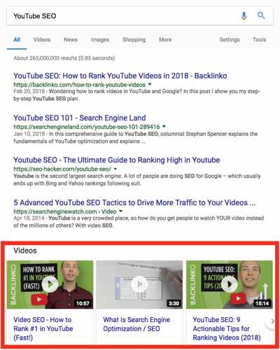 Optimisez vos videos pour le featured snippet 4